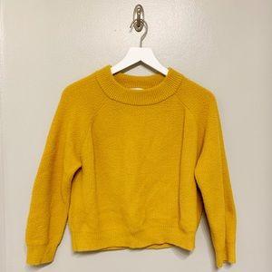 Fluffy Yellow Zara Sweater